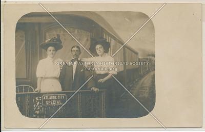 Atlantic City Special Train, L.I. Baden's Mammoth Studio, L.I.