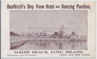 Daufkirch's Bayview Hotel & Dancing Pavilion, North Beach, L.I.