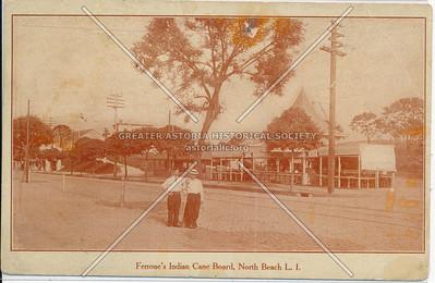 Ferrone's Indian Cane Board, North Beach, L.I.