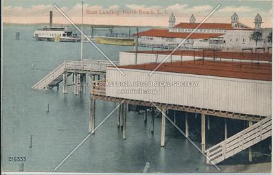 Boat Landing, North Beach, L.I.