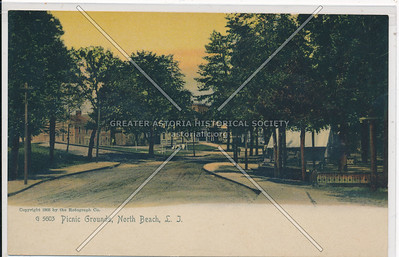 Picnic Grounds, North Beach, L.I.