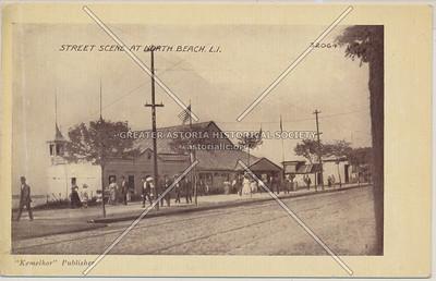 Street Scene at North Beach, L.I.
