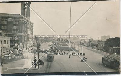 Queens Plaza looking East (ca 1910?)