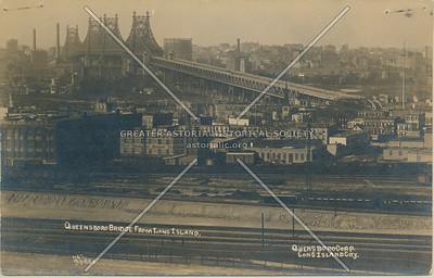 Queensboro Bridge from Long Island, LIC, NY.