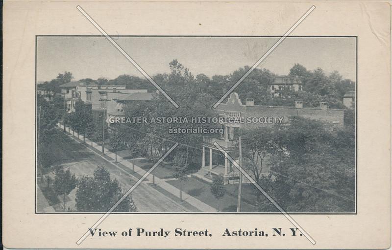 View of Purdy St (43 St), Astoria, L.I.