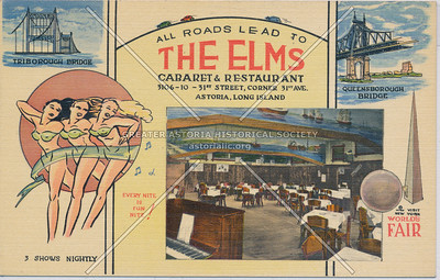 The Elms Cabaret & Restaurant, 3106-10 31st, Corner 31st Ave, Astoria, L.I.