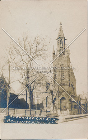 Reformed Church, Remsen St (12 St), Astoria, LIC, NY.