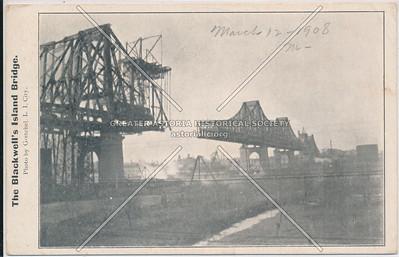 The Blackwell's Island Bridge, LIC, NY.