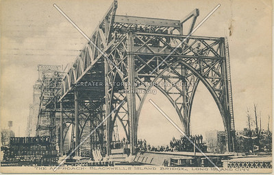 Blackwells Island Bridge (Queensboro Bridge), LIC, NY.