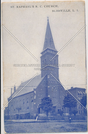 St Raphael's R.C. Church, Greenpoint Ave., Blissville, LIC, NY.