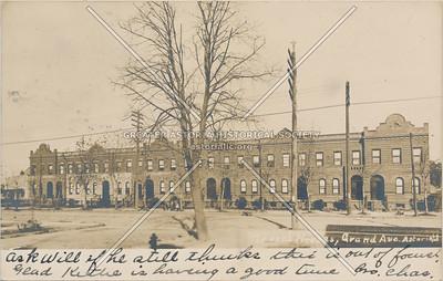 Green Houses, Grand Ave (30 Ave), Astoria, LIC, NY.