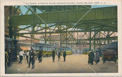 Jackson Ave (Queens Plaza) from Bridge Plaza, LIC, NY.