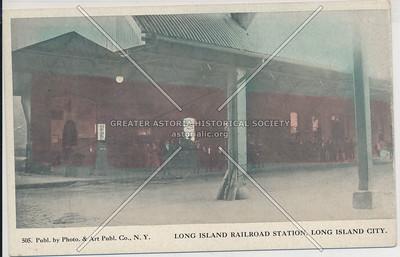 Long Island Railroad Station, LIC, NY.