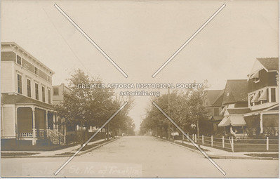 Woosley St (14 St), north of Franklin St (27 Ave), LIC, NY.