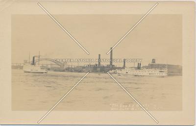 """""""The Sound Boats"""" Hellsgate Bridge, Astoria, LIC, NY."""