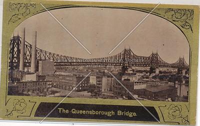 The Queensboro Bridge, LIC, NY.