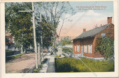 Old Homestead on Shore Road, Astoria, LIC, NY.