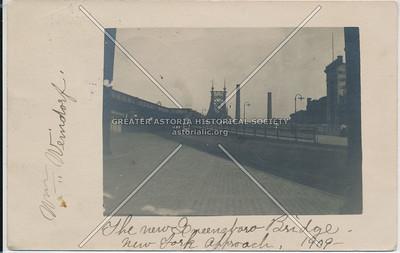 Queensboro Bridge, 1909, NY.