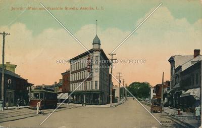 Junction Main & Franklin Sts (Astoria Blvd and 27 Ave), Astoria, L.I.