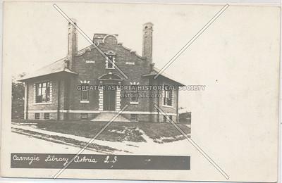 Carnegie Library, Astoria, LIC, NY.