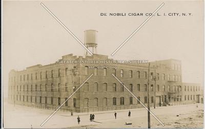 De Nobili Cigar Co, 35 Ave at 9 St., LIC, NY.