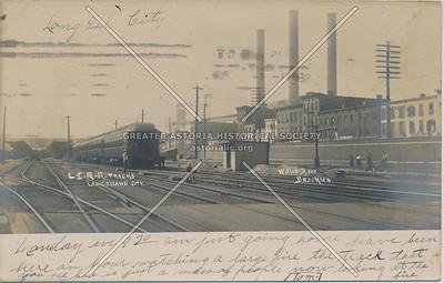 L.I.R.R. Tracks, LIC, NY.