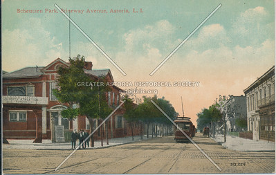 Scheutzen Park, Steinway Ave, Astoria, L.I.