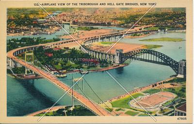 Triborough & Hell Gate Bridges, NYC.