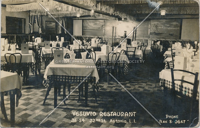 Vesuvio Restaurant, 35-54 32nd St., Astoria, L.I.