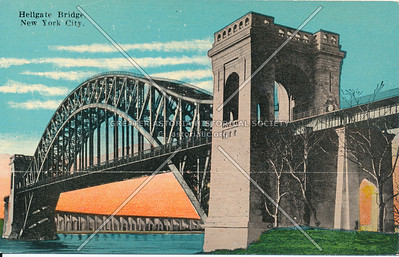 Hell Gate Bridge, N.Y.