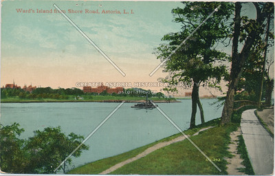 Ward's Island from Shore Road, Astoria, L.I.