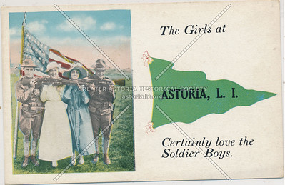The Girls at Astoria, L.I.
