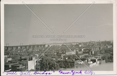 Hell Gate Bridge, L.I., N.Y.