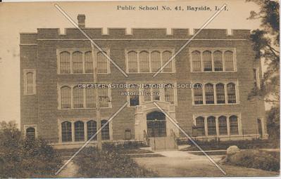 Public School No.41, Bayside, LIC.