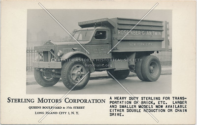 Sterling Motors Corp., Queens Boulevard & 37th St, LIC.