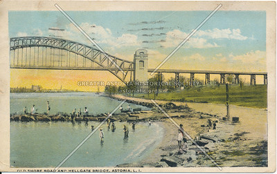 Old Shore Road & Hell Gate Bridge, N.Y.
