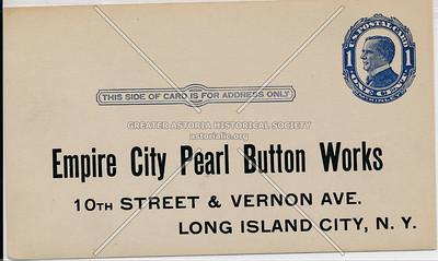 Empire City Pearl Button Works, 10th St (46 Ave) & Vernon Blvd., LIC.