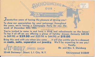 Jer-Mays Dress Shop, 30-44 Steinway St, LIC.