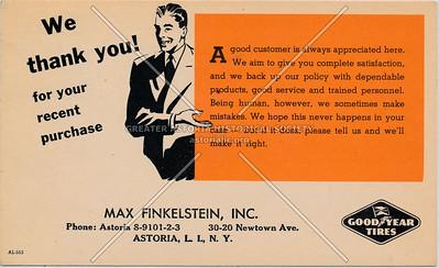 Max Finkelstein, INC, Astoria, LIC.