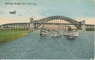 Hell Gate Bridge, NYC.