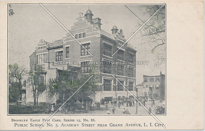 Public School No. 5, Academy St (29 St) near Grand Ave (30 Ave), LIC.