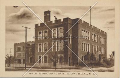 Public School No. 41, Bayside, LIC.