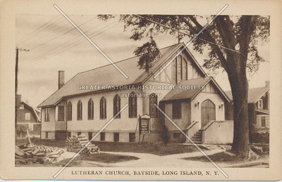 Lutheran Church, Bayside, LIC.