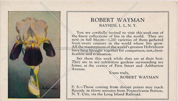 Robert Wayman, Bayside, LIC.