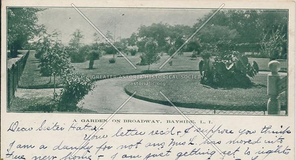 A Garden on Broadway, Bayside, LIC.