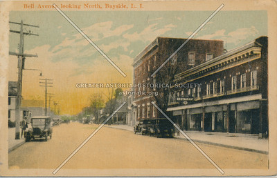 Bell Ave, looking North, Bayside, LIC.