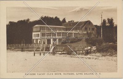 Bayside Yacht Club Dock, Bayside, LIC.