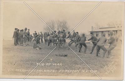 Tug of War, 47th Recruit Detachment, Fort Totten, N.Y.