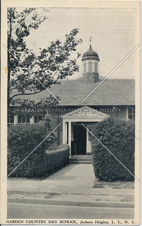 Garden Country Day School, Jackson Heights, L.I.