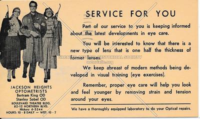 Jackson Heights Optometrists, 82-12 Northern BLVD, L.I.